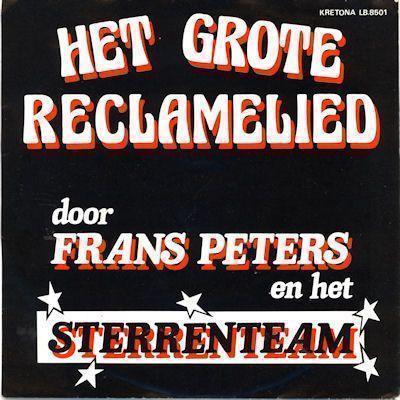 Coverafbeelding Frans Peters en Het Sterrenteam - Het Grote Reclamelied