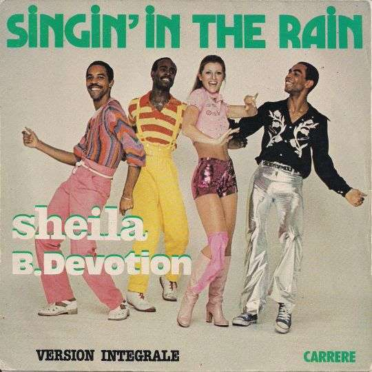 Coverafbeelding Singin' In The Rain - Sheila B. Devotion