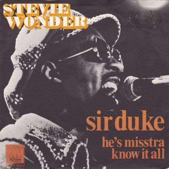Coverafbeelding Sir Duke - Stevie Wonder