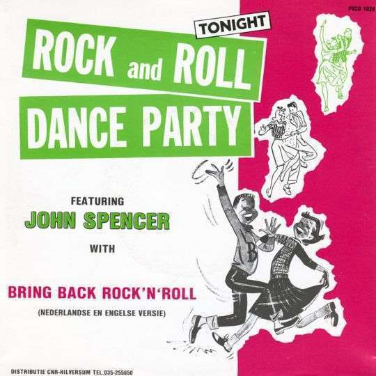 Coverafbeelding Bring Back Rock 'n' Roll - John Spencer