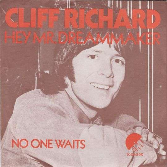 Coverafbeelding Hey Mr. Dreammaker - Cliff Richard