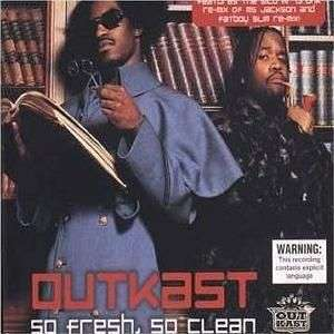 Coverafbeelding So Fresh, So Clean - Outkast