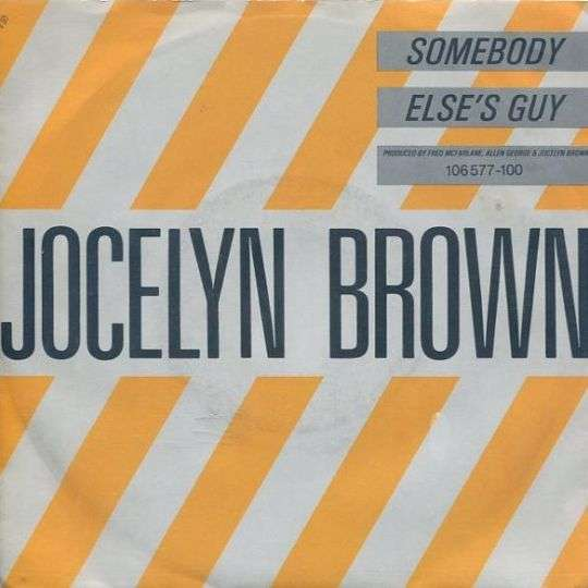 Coverafbeelding Somebody Else's Guy - Jocelyn Brown