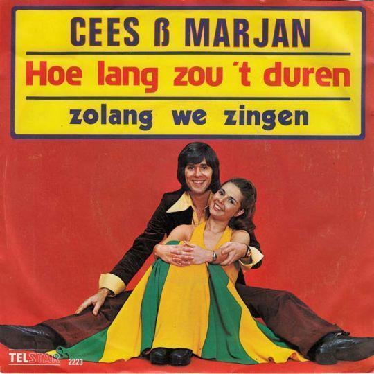Coverafbeelding Cees & Marjan - Hoe Lang Zou 't Duren
