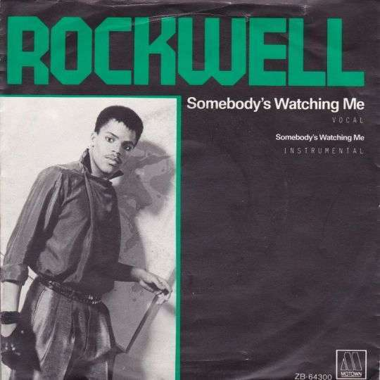 Coverafbeelding Rockwell - Somebody's Watching Me