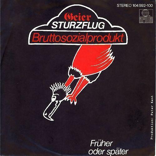 Coverafbeelding Geier Sturzflug - Bruttosozialprodukt
