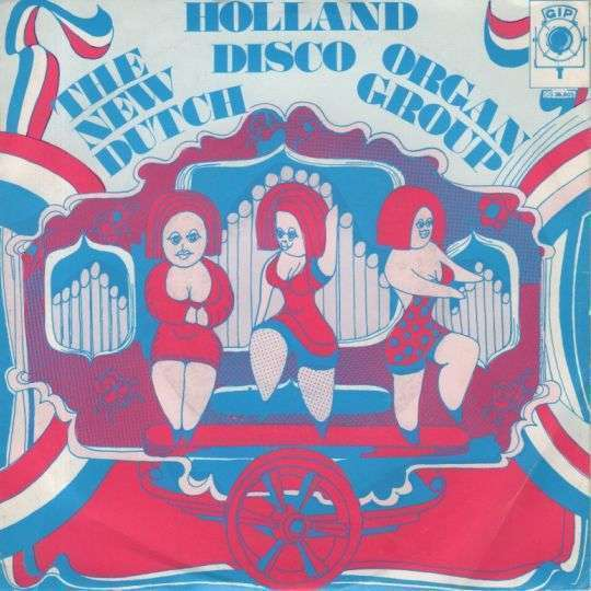 Coverafbeelding The New Dutch Organ Group - Holland Disco