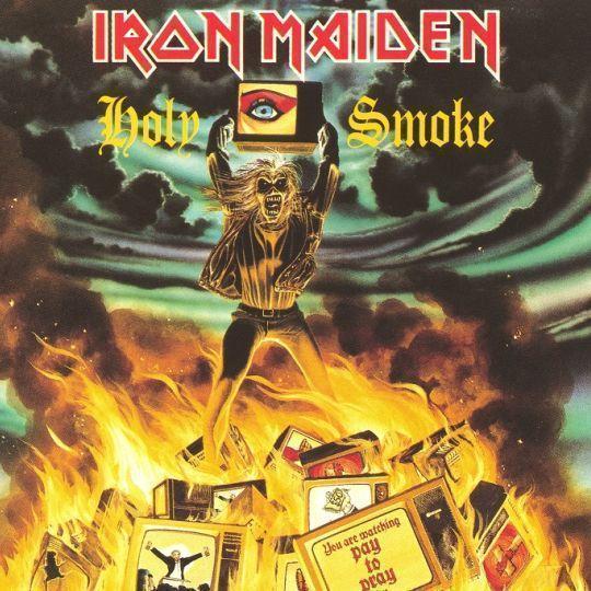 Coverafbeelding Holy Smoke - Iron Maiden