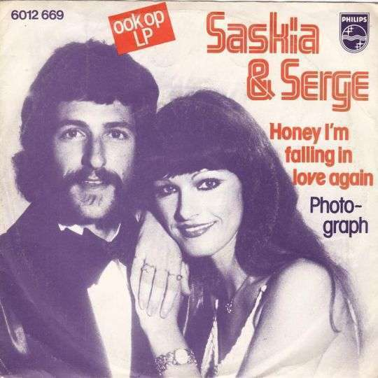 Coverafbeelding Honey I'm Falling In Love Again - Saskia & Serge