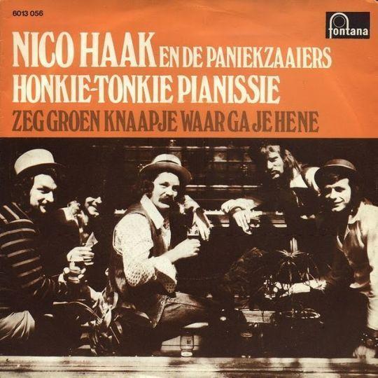 Coverafbeelding Honkie-tonkie Pianissie - Nico Haak En De Paniekzaaiers