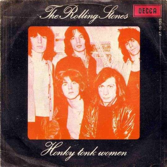 Coverafbeelding Honky Tonk Women - The Rolling Stones