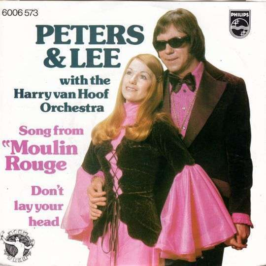 "Coverafbeelding Song From ""moulin Rouge"" - Peters & Lee With The Harry Van Hoof Orchestra"