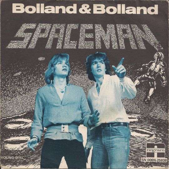 Coverafbeelding Spaceman - Bolland & Bolland