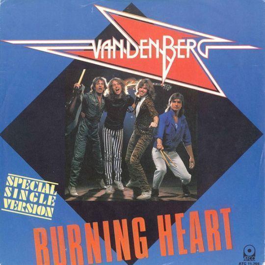 Coverafbeelding Burning Heart - Vandenberg