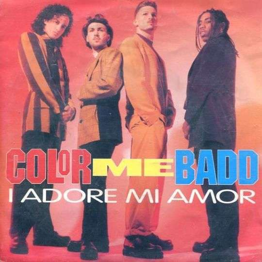 Coverafbeelding I Adore Mi Amor - Color Me Badd