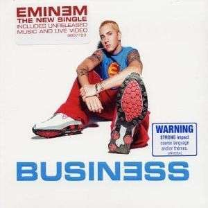 Coverafbeelding Business - Eminem