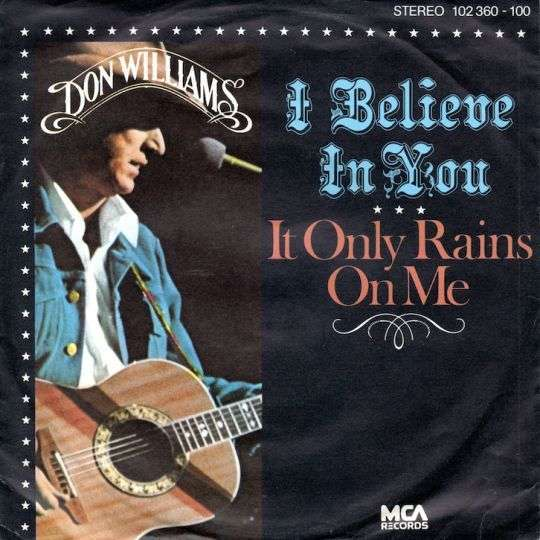 Coverafbeelding I Believe In You - Don Williams