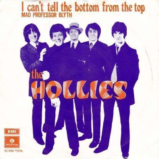 Coverafbeelding The Hollies - I Can't Tell The Bottom From The Top