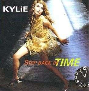 Coverafbeelding Step Back In Time - Kylie