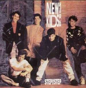 Coverafbeelding Step By Step - New Kids On The Block