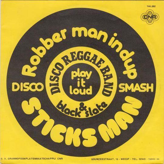 Coverafbeelding Disco Reggae Band & Black Slate - Sticks Man