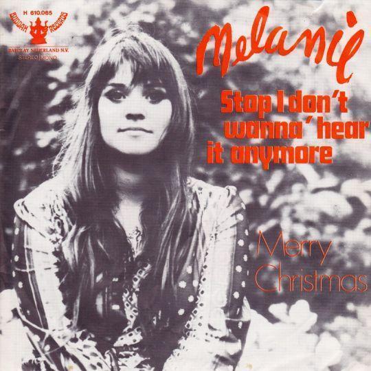 Coverafbeelding Stop I Don't Wanna' Hear It Anymore - Melanie