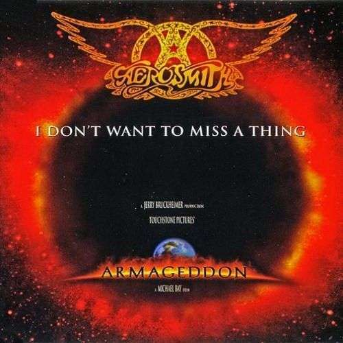 Coverafbeelding I Don't Want To Miss A Thing - Aerosmith
