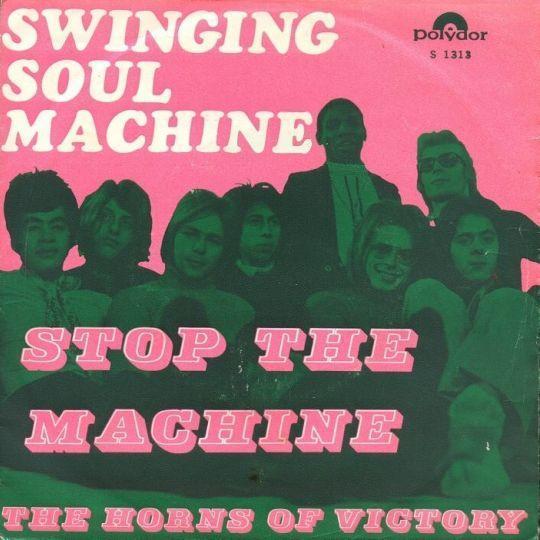 Coverafbeelding Stop The Machine - Swinging Soul Machine