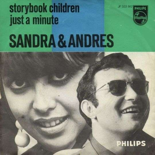 Coverafbeelding Storybook Children - Sandra & Andres / Billy Vera & Judy Clay / Nancy & Lee