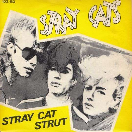 Coverafbeelding Stray Cat Strut - Stray Cats