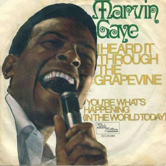 Coverafbeelding I Heard It Through The Grapevine - Marvin Gaye