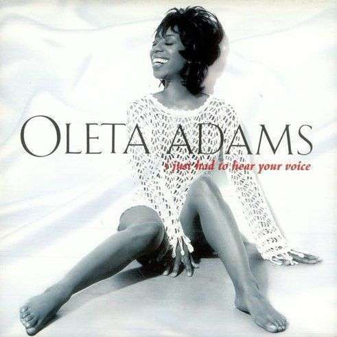 Coverafbeelding I Just Had To Hear Your Voice - Oleta Adams
