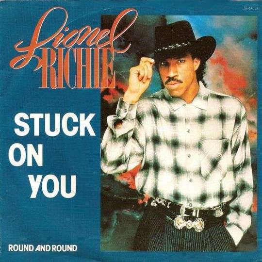 Coverafbeelding Stuck On You - Lionel Richie