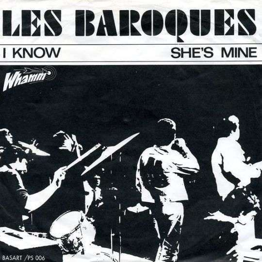 Coverafbeelding I Know - Les Baroques