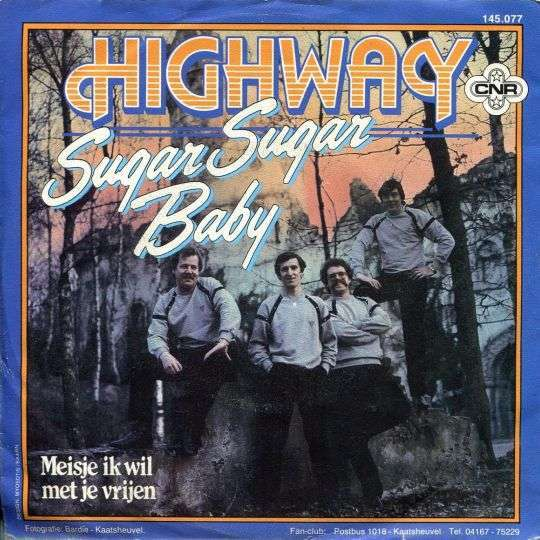 Coverafbeelding Sugar Sugar Baby - Highway