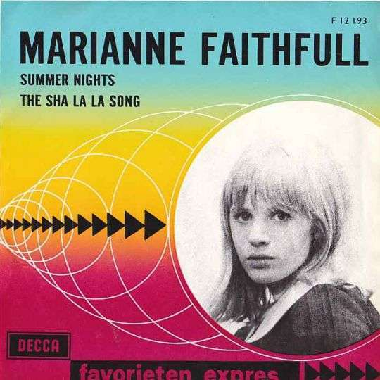 Coverafbeelding Marianne Faithfull - Summer Nights