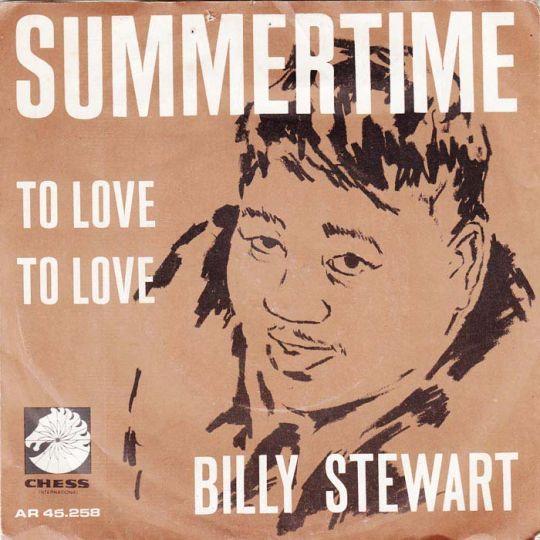 Coverafbeelding Billy Stewart - Summertime