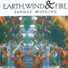 Coverafbeelding Sunday Morning - Earth, Wind & Fire