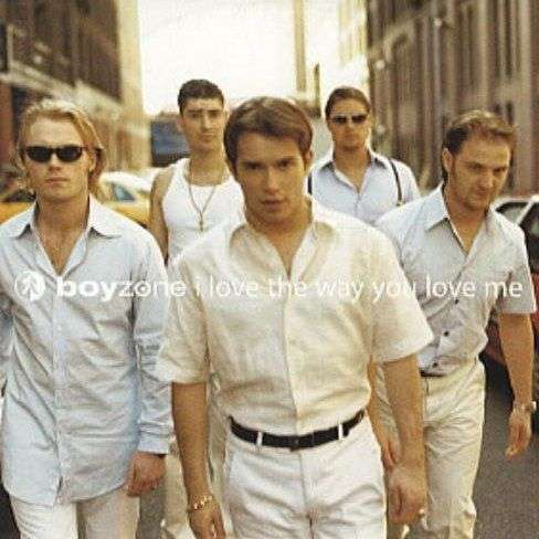 Coverafbeelding I Love The Way You Love Me - Boyzone