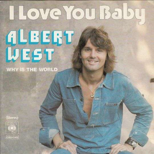 Coverafbeelding I Love You Baby - Albert West