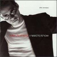 Coverafbeelding I Need To Know - Marc Anthony