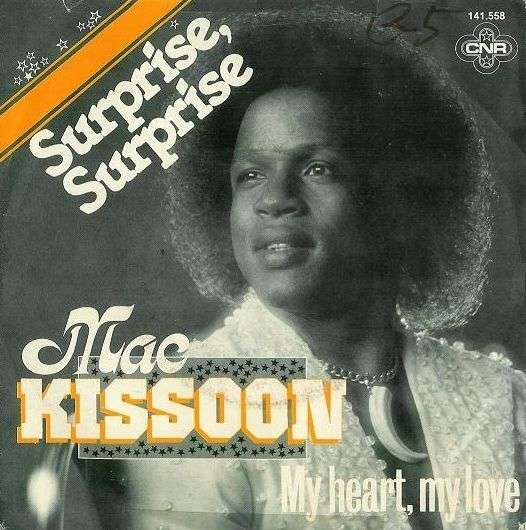 Coverafbeelding Surprise, Surprise - Mac Kissoon