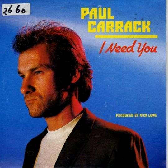 Coverafbeelding I Need You - Paul Carrack