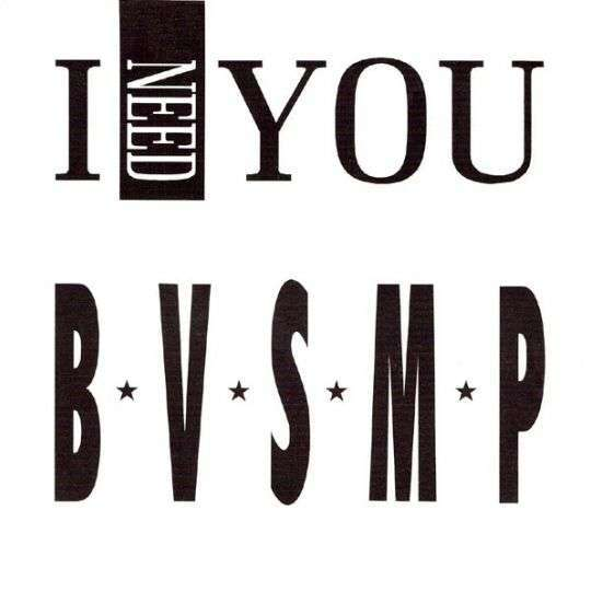 Coverafbeelding B.V.S.M.P - I Need You