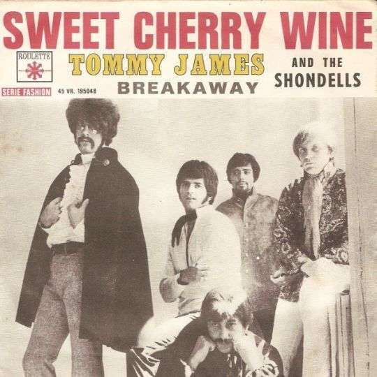 Coverafbeelding Sweet Cherry Wine - Tommy James And The Shondells