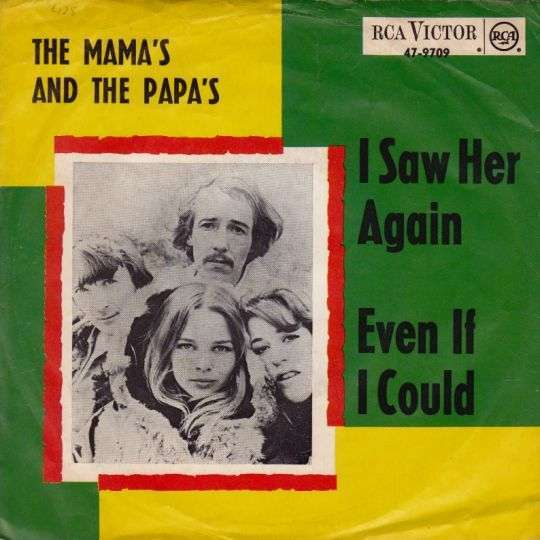 Coverafbeelding I Saw Her Again - The Mama's And The Papa's