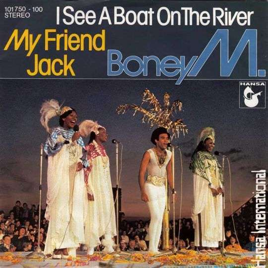 Coverafbeelding I See A Boat On The River - Boney M.