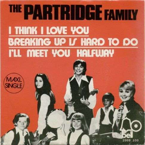 Coverafbeelding I Think I Love You ((1970)) / I Think I Love You [Maxi-single] ((1972)) - The Partridge Family Starring Shirley Jones Featuring David Cassidy / The Partridge Family
