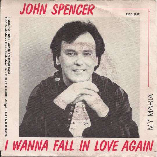 Coverafbeelding I Wanna Fall In Love Again - John Spencer
