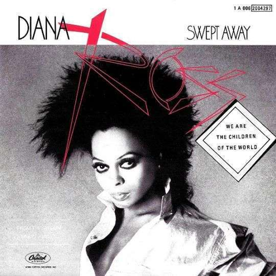 Coverafbeelding Swept Away - Diana Ross